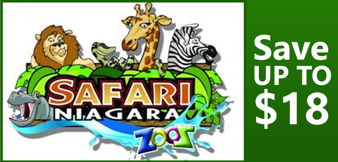 Safari Niagara save upto 18 dollars